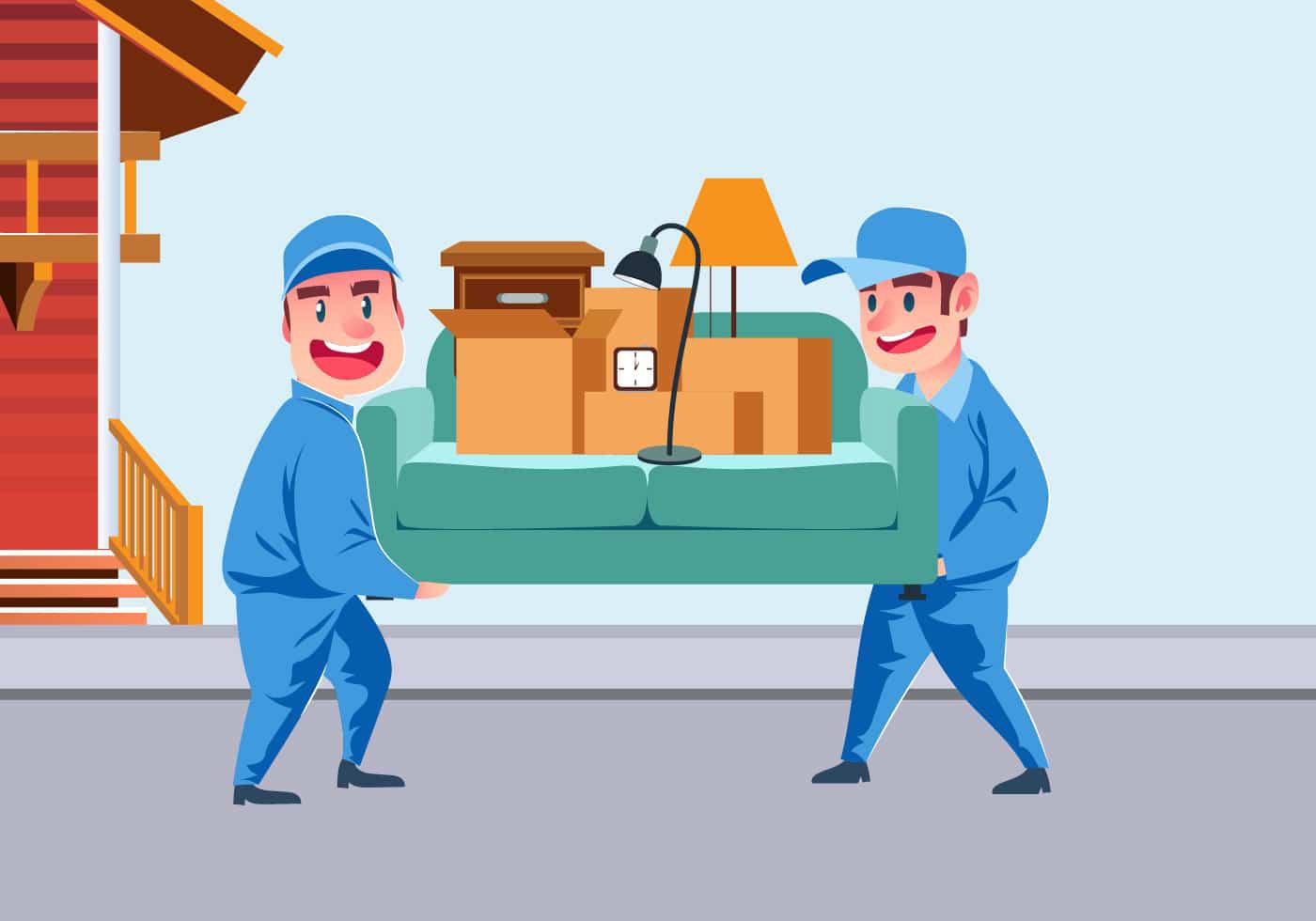 بسته بندی اثاثیه باربری و اتوبار ظرافت بار